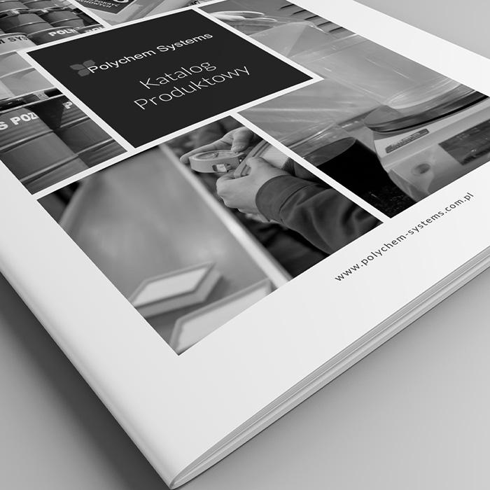 projekt graficzny katalog polychem systems
